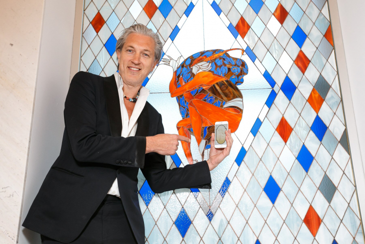 Marcel Wanders created the interior for the Barkli Gallery lobby